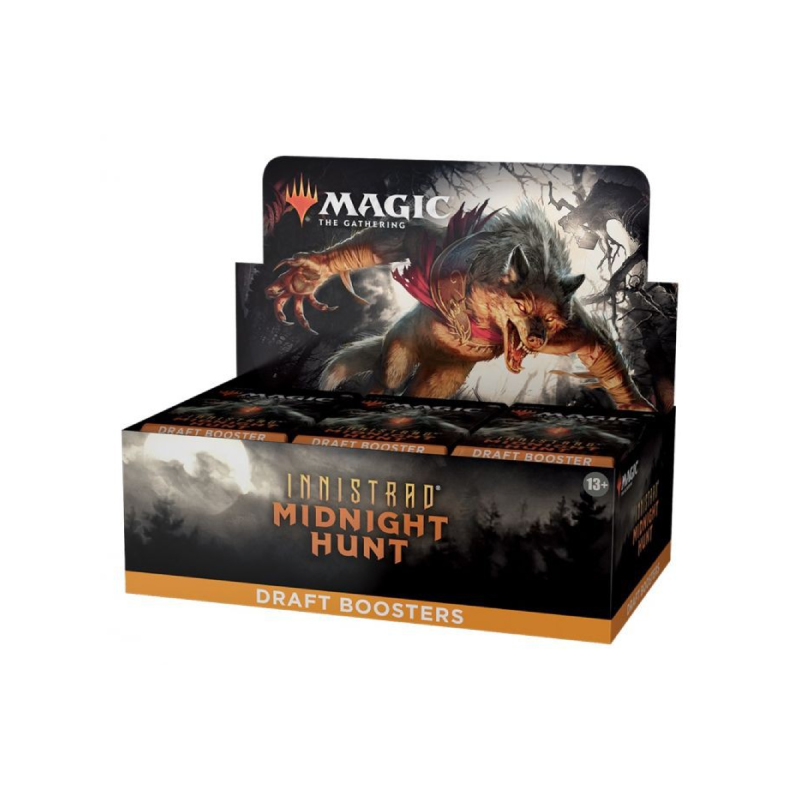 การ์ดเกม Magic The Gathering: Innistrad Midnight Hunt (MID) Draft Booster Box