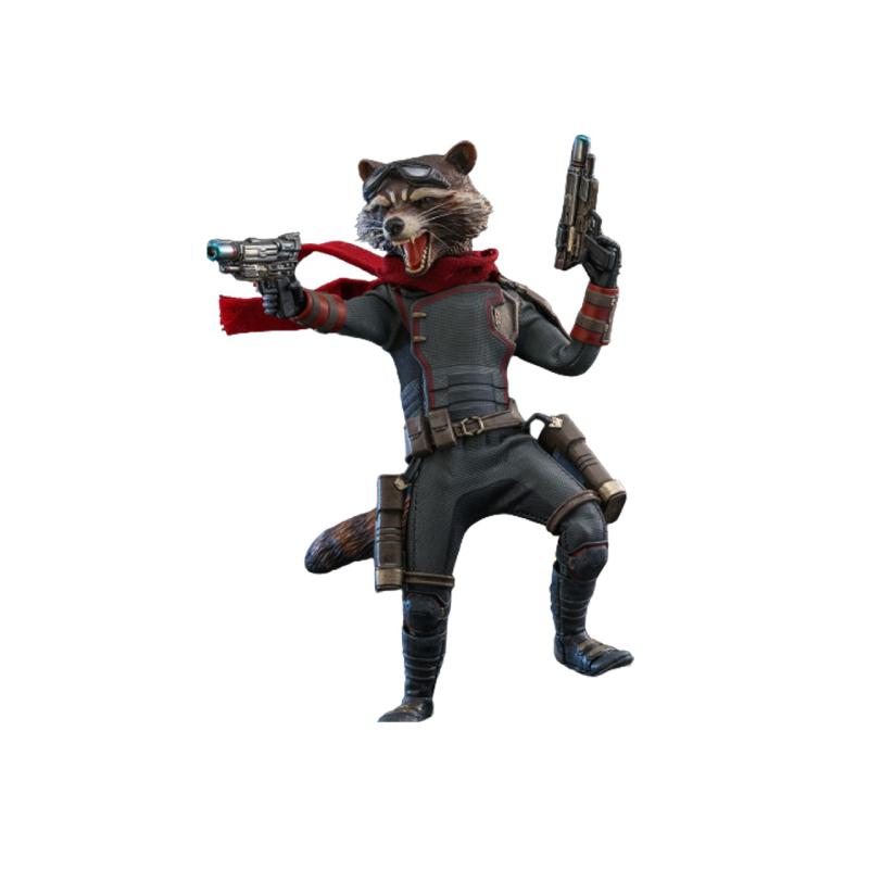 ฟิกเกอร์ Hot Toys Rocket: Avengers Endgame 1/6 Scale Figure