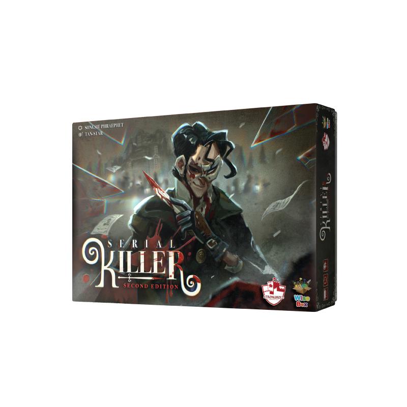 บอร์ดเกม The Stronghold SIAM เกมจับฆาตกร Serial Killer 2nd Edition Board Game