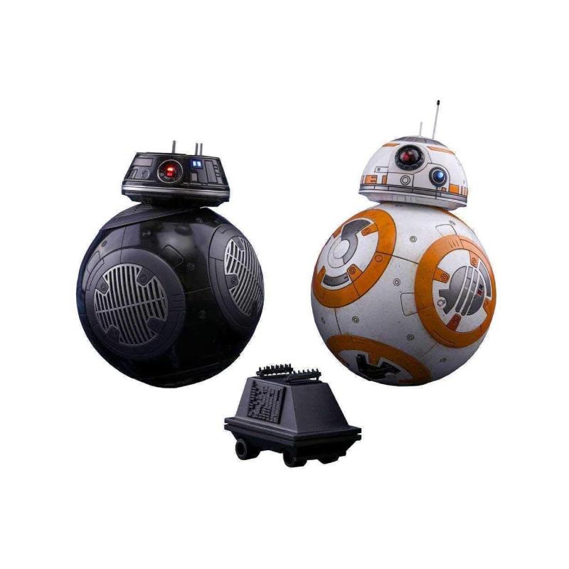 ฟิกเกอร์ Hot Toys BB-8 and BB-9E: Star Wars EP8 1/6 Scale Figure