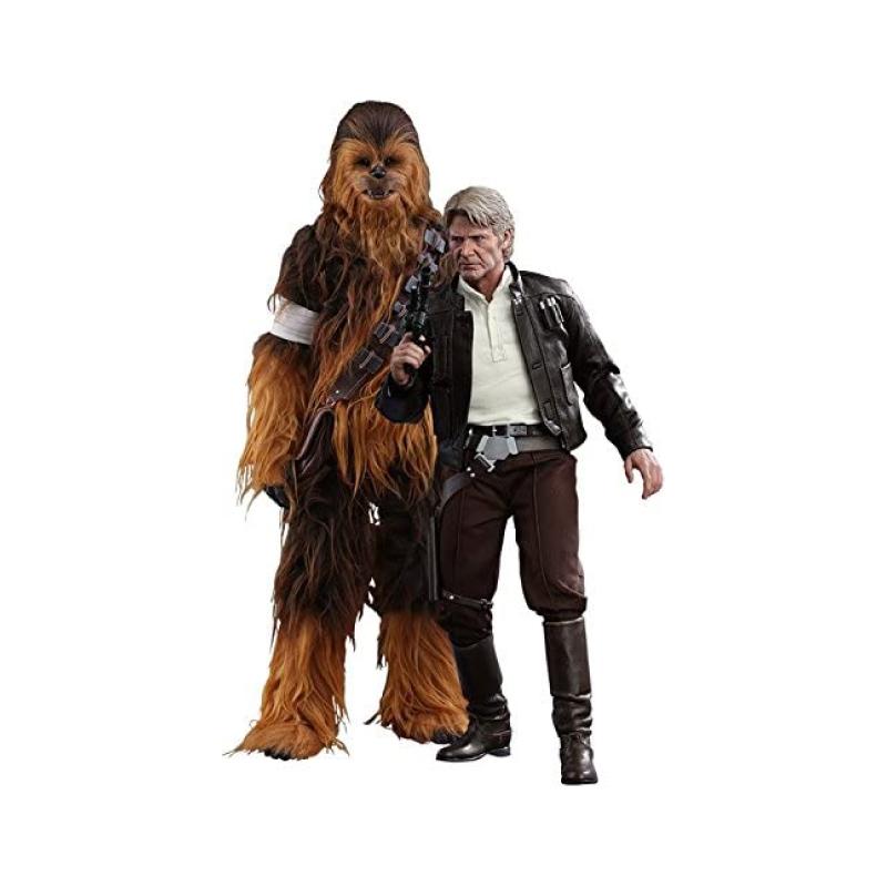 ฟิกเกอร์ Hot Toys Han Solo & Chewbacca 1/6 Scale Figure