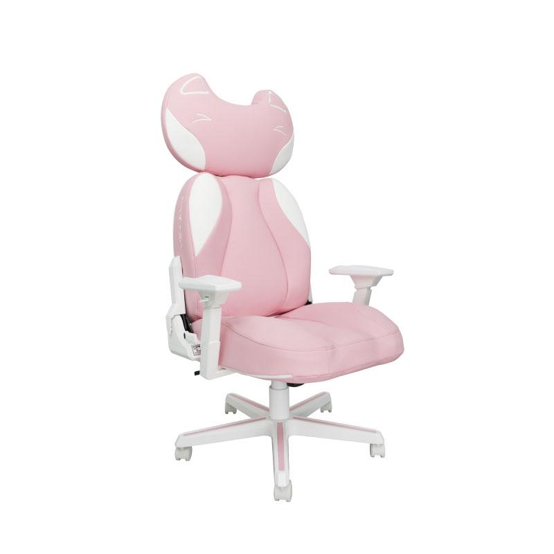 เก้าอี้เล่นเกม DXRacer Pink Kitty Gaming Chair