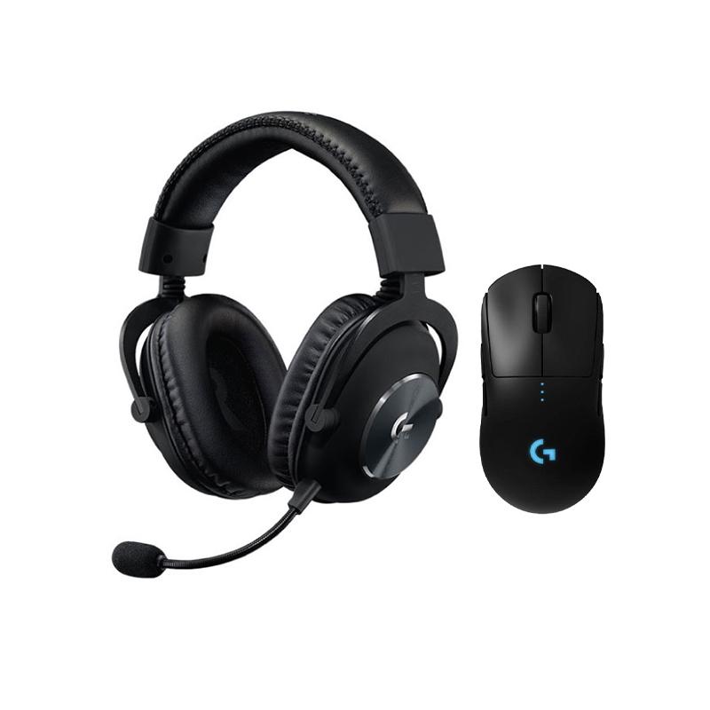 ชุดเล่นเกม Logitech G Pro X + G Pro Wireless Bundle Set