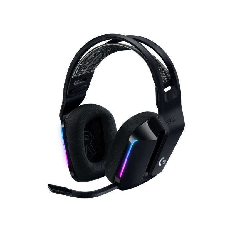 หูฟัง Logitech G733 Lightspeed Gaming Headphone