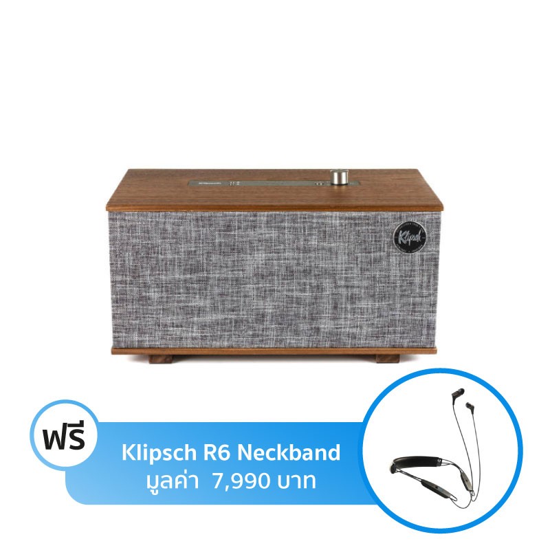 ลำโพง Klipsch The Three With Google Assistant Bluetooth Speaker
