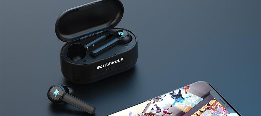 หูฟังไร้สาย Blitzwolf BW-FLB2 True Wireless การออกแบบ
