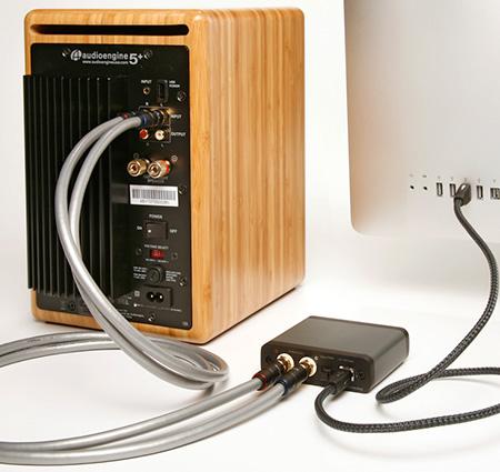 Audioengine D1 DAC เชื่อมต่อ