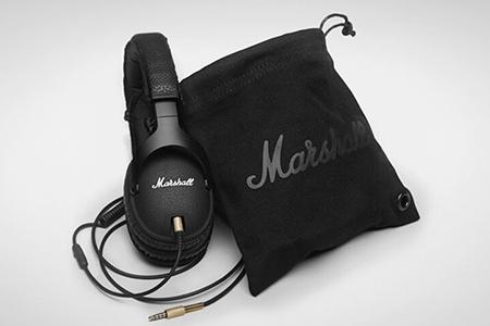 หูฟัง Marshall Monitor สีดำ ราคา