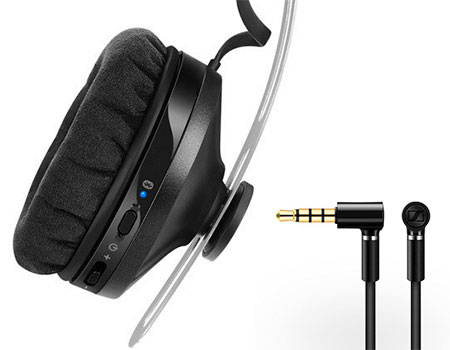 หูฟัง Sennheiser Momentum wireless on ear เชื่อมต่อ