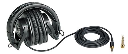 Audio-Technica ATH-M30x เสียง