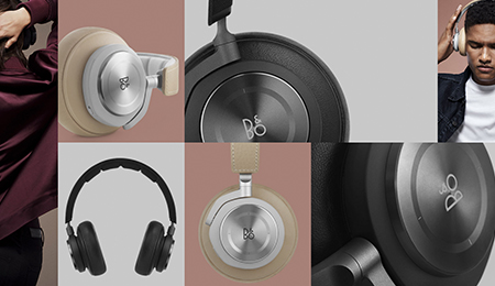 B&O Play BeoPlay H7 วัสดุ