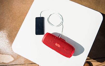 ลำโพง jbl-charge-3 สีแดง
