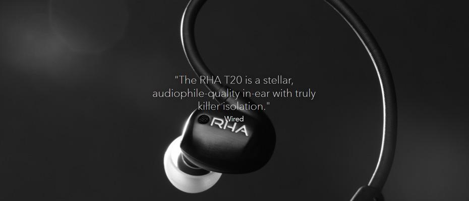 RHA T20i (2018) In-Ear ซื้อ