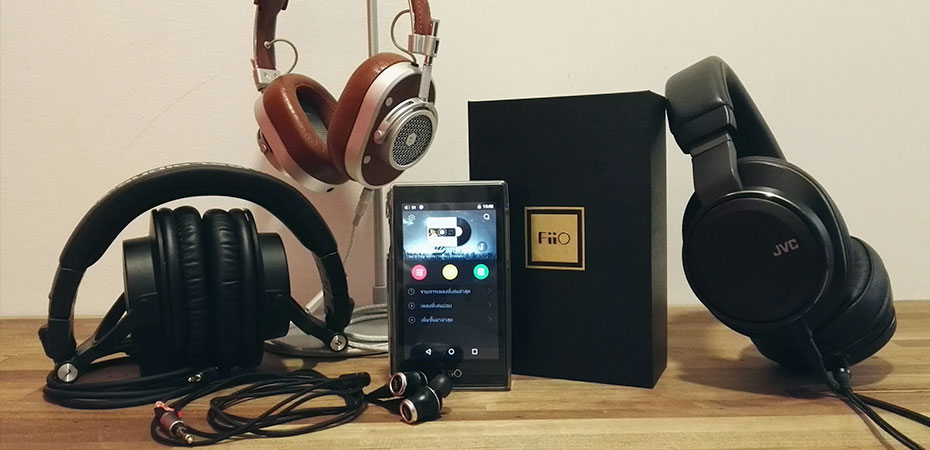 Fiio X5 Gen3 เสียง