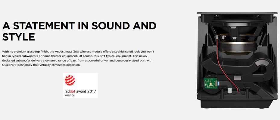 ลำโพง Bose Acoustimass 300 Wireless Bass Module (Optional Add-On) ซื้อ