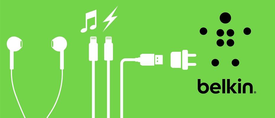 สาย Belkin Lightning Audio + Charge Belkin Rockstar ราคา