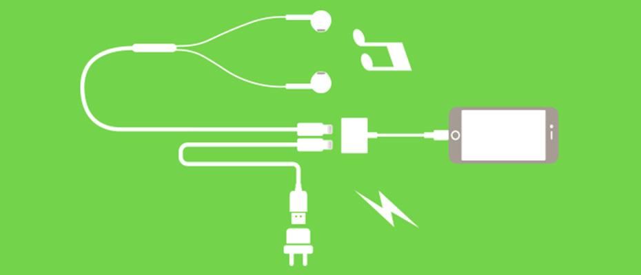 สาย Belkin Lightning Audio + Charge Belkin Rockstar หัวแปลง