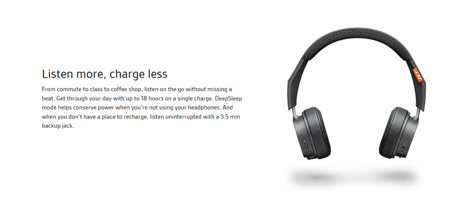 Plantronics Backbeat Fit 505 ขาย