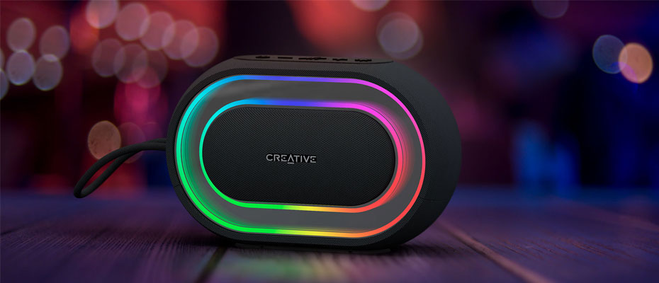 ลำโพง Creative Halo Bluetooth Speaker ราคา