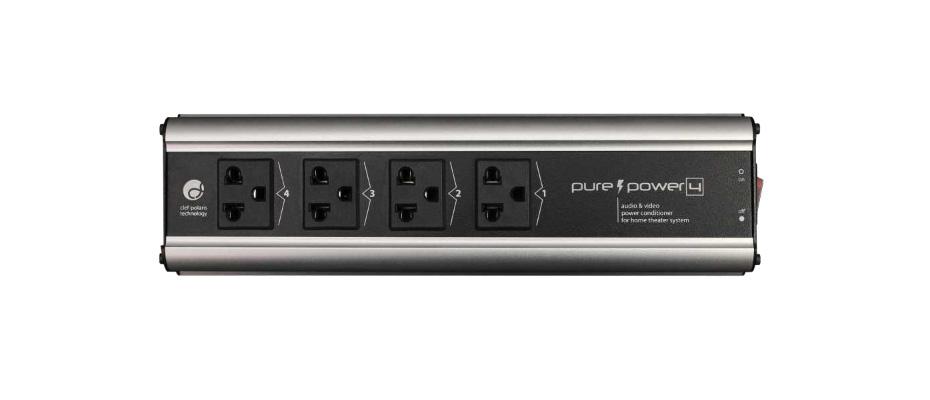 ปลั๊กไฟ Clef Audio PurePower 4 ช่อง ยาว 1.5 เมตร ราคา