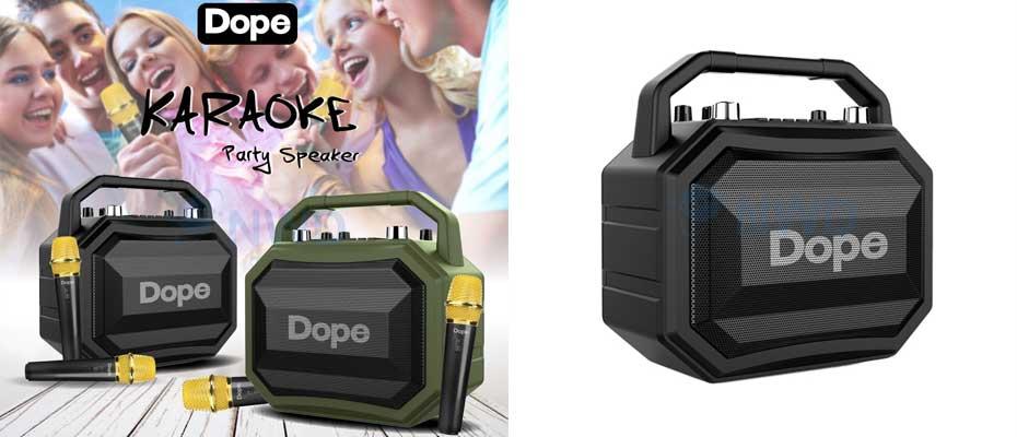 ลำโพง Dope Karaoke Bluetooth Speaker ราคา