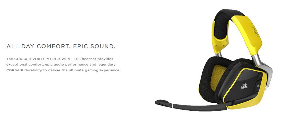 หูฟังไร้สาย CORSAIR Void Pro RGB Wireless SE Headphone ราคา