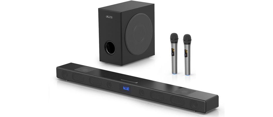 ลำโพง JY Audio A9KS+S5 Sound Bar Speaker ราคา