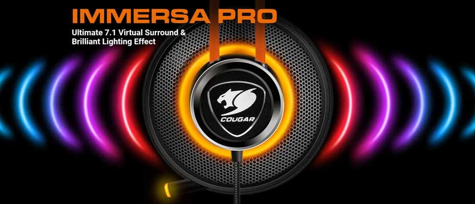 หูฟัง Cougar ImmersaPro Headphone ราคา