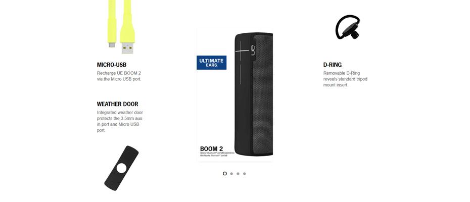 ลำโพงไร้สาย Ultimate Ears Boom 2 Speaker ขาย