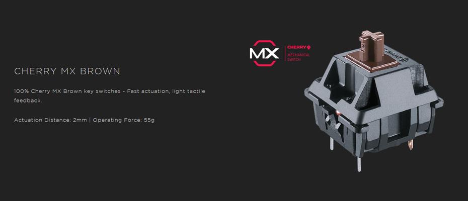 คีย์บอร์ด Corsair K95 RGB Platinum Mechanical Keyboard Brown Switch (Thai) Brown