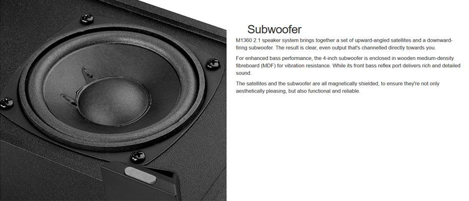ลำโพง Edifier M1360 Speaker ซื้อ