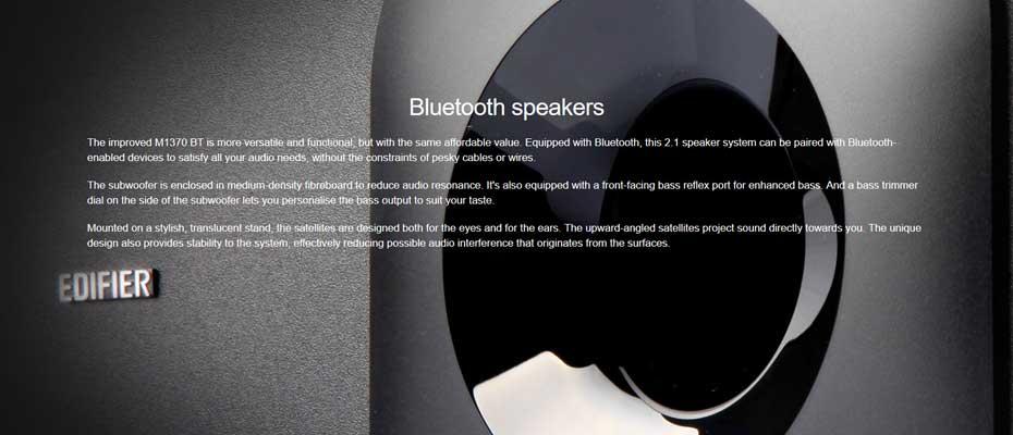 ลำโพงไร้สาย Edifier M1370BT Speaker ขาย