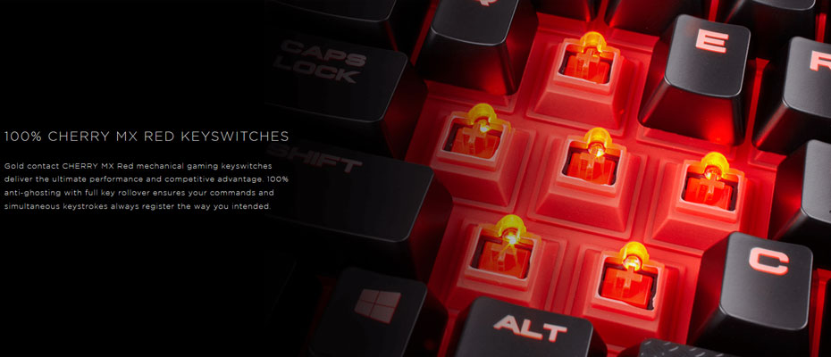 คีย์บอร์ด Corsair K68 Mechanical Keyboard Red Switch (Thai) ขาย