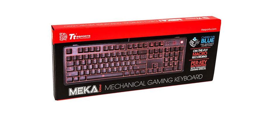คีย์บอร์ด Tt eSports Meka Pro Gaming Keyboard ขาย