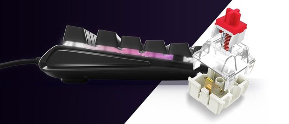 คีย์บอร์ด SteelSeries Apex M750 RGB Mechanical Keyboard Switch
