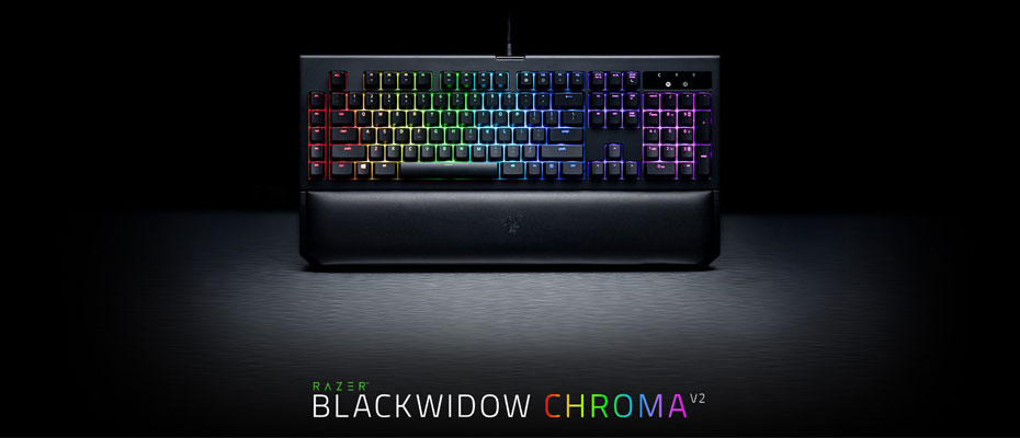 คีย์บอร์ด Razer Blackwidow Chroma V2 Mechanical Keyboard ราคา