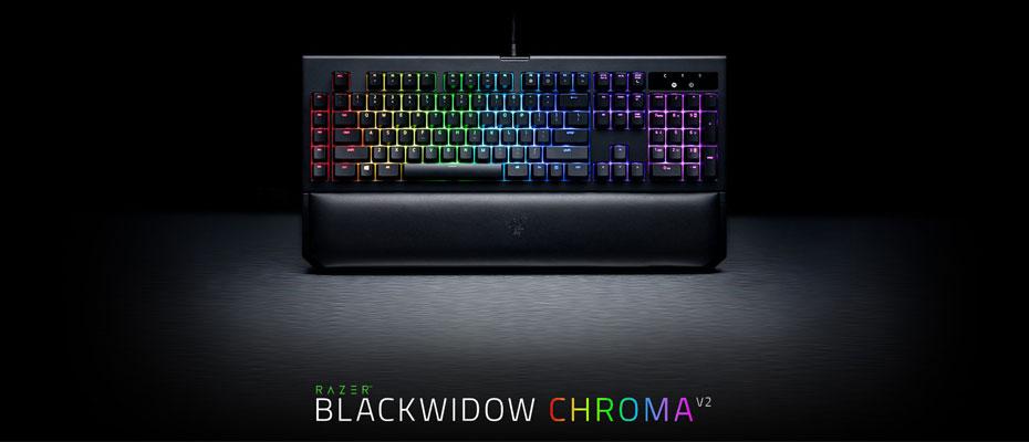 คีย์บอร์ด Razer Blackwidow Chroma V2 Mechanical Keyboard ราคา