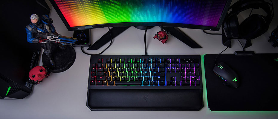 คีย์บอร์ด Razer Blackwidow Chroma V2 Mechanical Keyboard ซื้อ