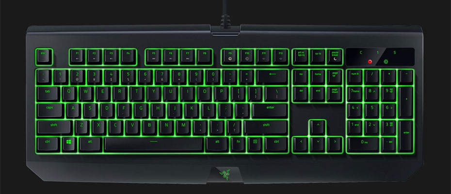 คีย์บอร์ด Razer Blackwidow Ultimate IP54 Mechanical Keyboard Green SW ซื้อ