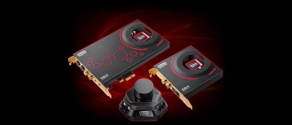 การ์ดเสียง Creative Sound Blaster ZXR ราคา