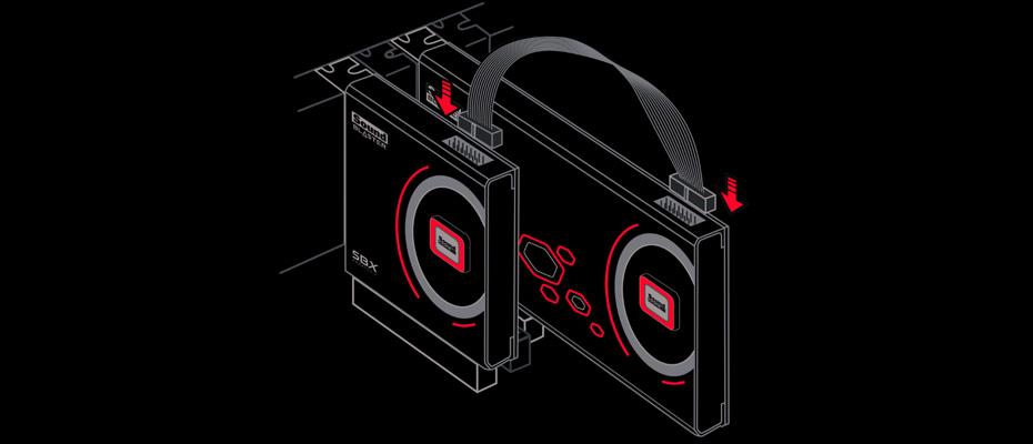 การ์ดเสียง Creative Sound Blaster ZXR ขาย