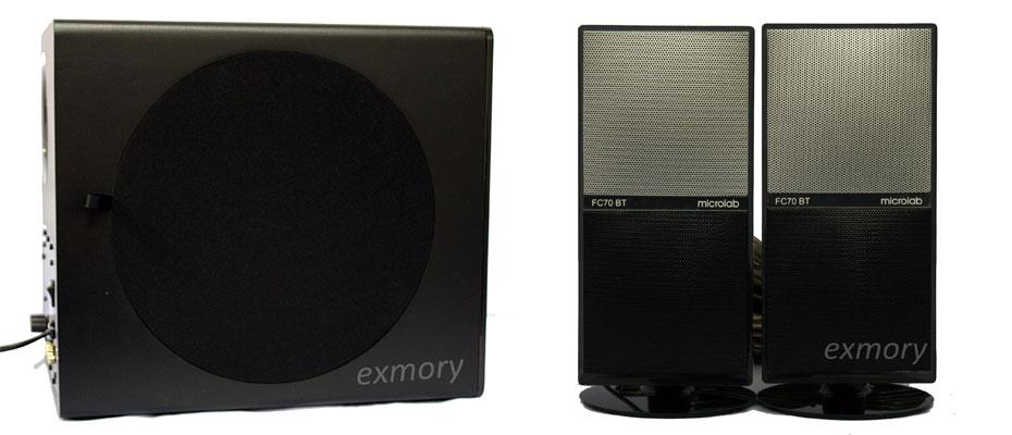 ลำโพงไร้สาย Microlab FC70BT Bluetooth Speaker ขาย