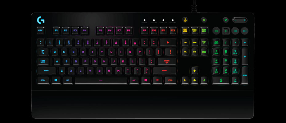 คีย์บอร์ด Logitech G213 Prodigy Gaming Keyboard ราคา