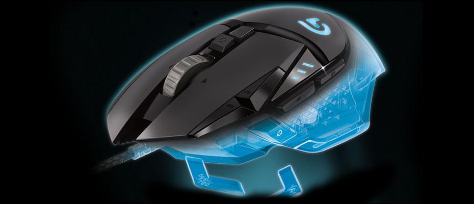 เมาส์ Logitech G502 Proteus Spectrum RGB Gaming Mouse ซื้อ