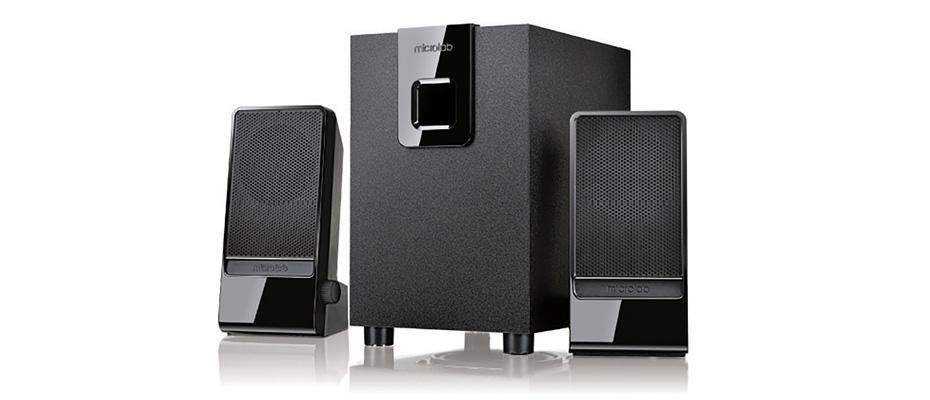 ลำโพงไร้สาย Microlab M100BT Bluetooth Speaker ราคา