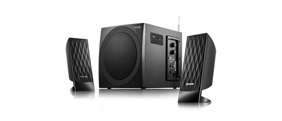 ลำโพงไร้สาย Microlab M300BT Bluetooth Speaker ราคา