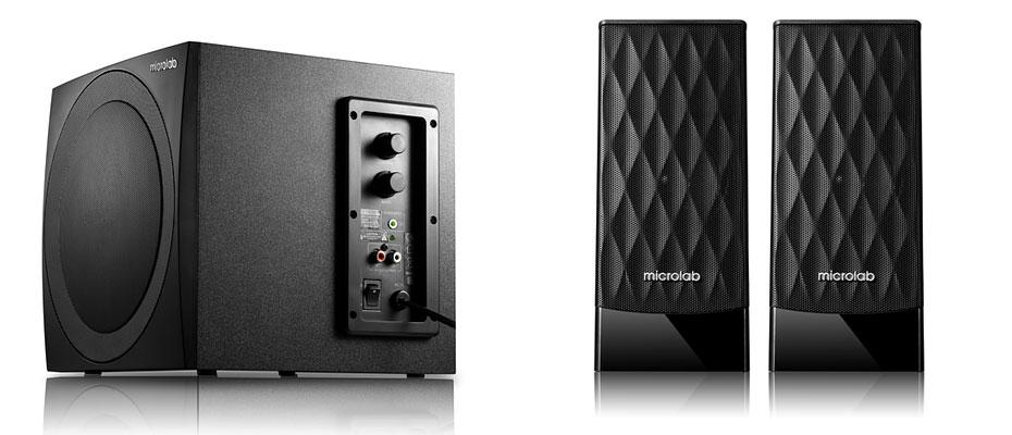 ลำโพงไร้สาย Microlab M300BT Bluetooth Speaker ซื้อ