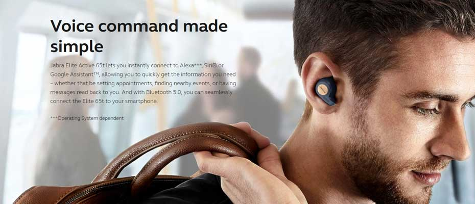 หูฟังไร้สาย Jabra Elite Active 65t True Wireless ขาย