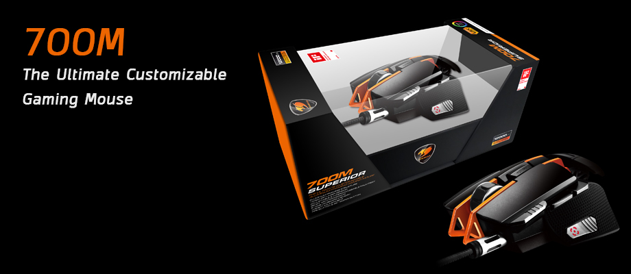 Cougar 700M Gaming mouse รีวิว
