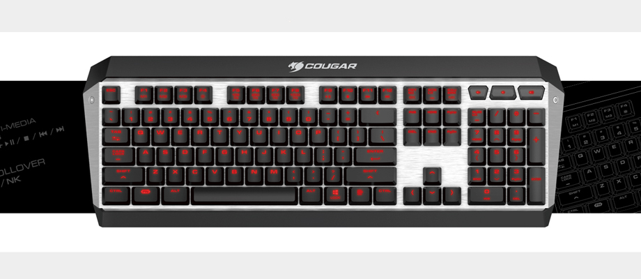Cougar Attack X3 Keyboard รีวิว